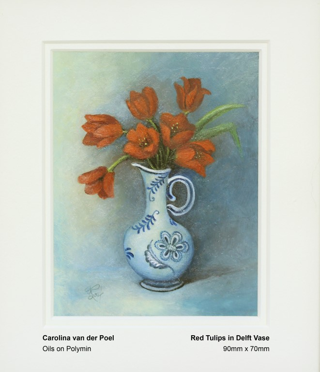 van-der-poel-carolina-red-tulips-in-delft-vase