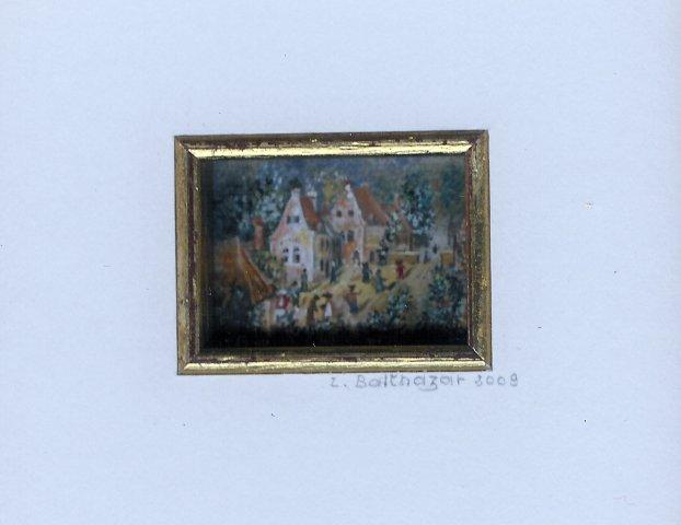 124B The Big Square 1569 by Lilian Balthazar in Opaque Watercolour