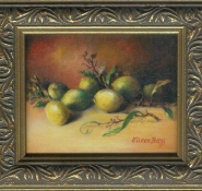 10 Lemons by Eileen Bass in Oil