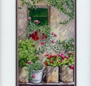 32 Entangled Creeper by Chrysoula Argyros in Watercolour