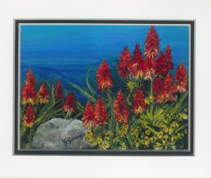 10 Aloe Valley by Joy Gibson - Oil