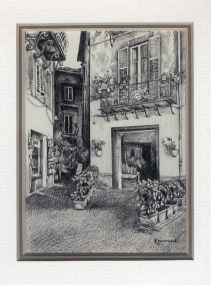 27 Orvieto by Karyn Wiggill - Pencil