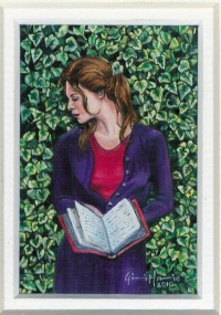 61 The Diary by Gini Harris - Oil on refined canvas