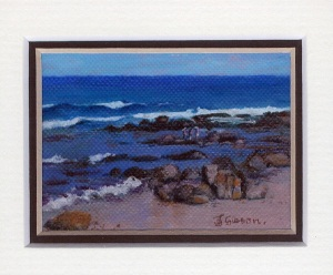7 Umhlanga Sands by Joy Gibson - Oil on canvas