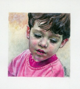 89 Tender Heart by Catherine Kraetschmer - Watercolour/Gouache