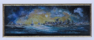 99 Sea View by Liliane Balthazar - Watercolour/Gouache