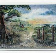 100 Sea View by Liliane Balthazar - Watercolour/Gouache
