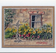 13 Springtime by Eileen Bass - Watercolour