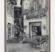 27 Orvieto by Karyn Wiggill - Pencil