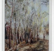 67 A Peaceful Picnic Spot, Potchefstroom by Nikolai Loukakis - Oil on Polymin (Highly Commended)