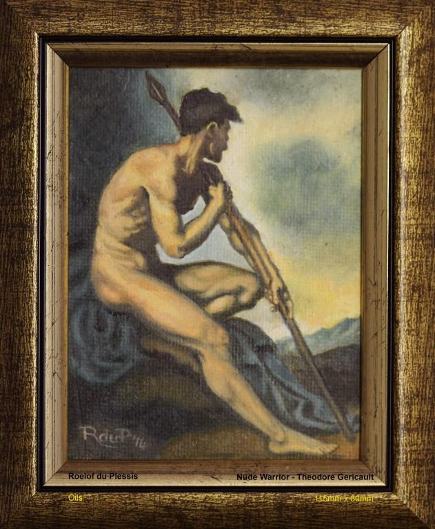 du-plessis-roelof-nude-warrior-theodore-gericault