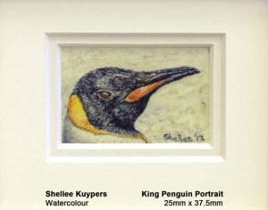 Penguin Portrait (Stamp-size)