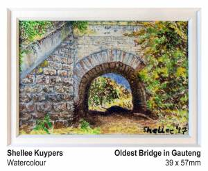 Oldest bridge in Gauteng