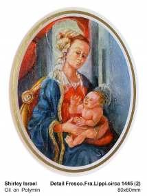 Detail Fresco. Fra Lippi 1445