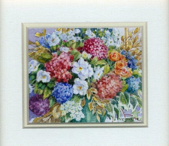 3 Celebration Bouquet by Valerie Christie in Watercolour and White