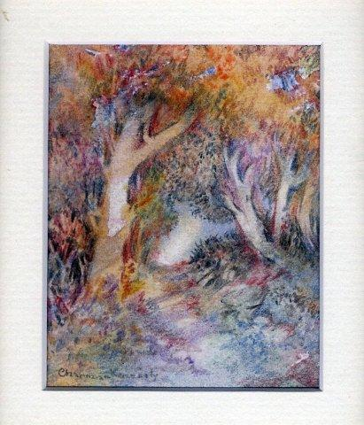 42 Autumn Leaves by Charmian Kennealy in Mixed Media