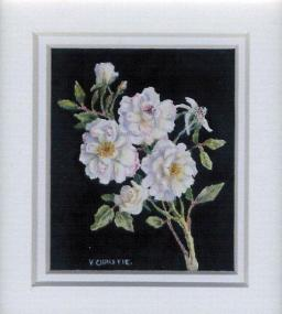 1 End of Season Roses by Valerie Christie in Watercolour