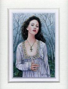 112 Lady Guinevere by Gini Harris.  Oil on Canvas